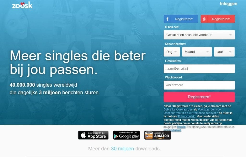 dating sites sociale netwerken